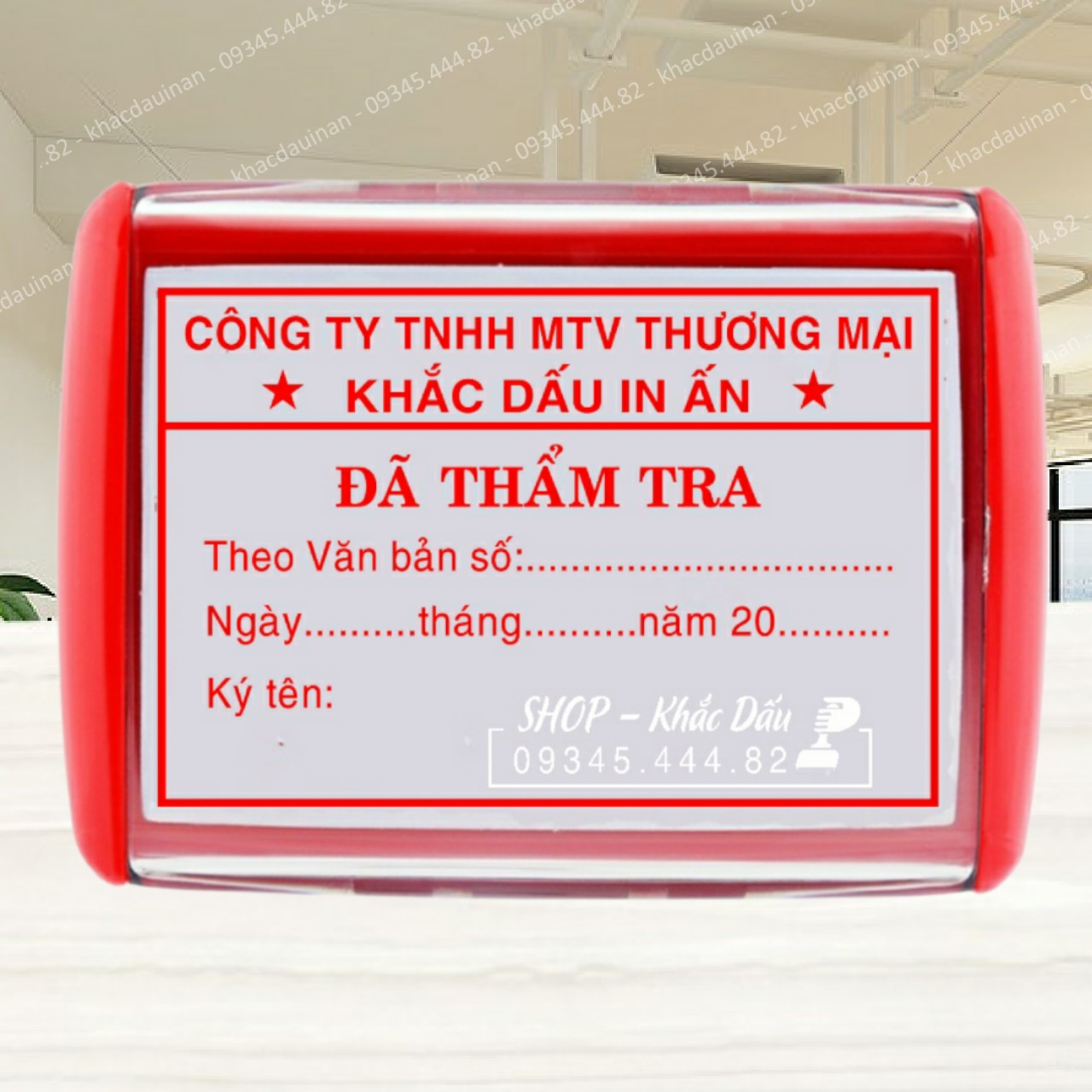 Quý công ty đang cần làm con dấu đã thẩm tra hãy đến ngay với chúng tôi, dịch vụ làm con dấu giá rẻ tại TPHCM, Hà Nội.