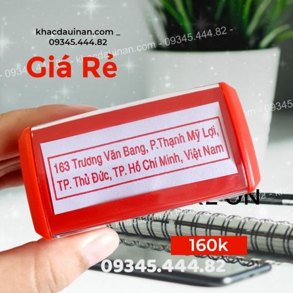 Doanh nghiệp công ty đổi địa chỉ kinh doanh cần con dấu địa chỉ đóng trên hóa đơn và các văn bản thay đổi. dịch vụ khắc con dấu địa chỉ giá rẻ giao hàng tận nơi TP.HCM - Hà Nội