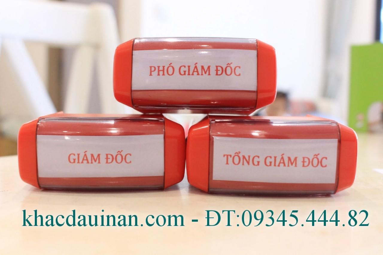 Chuyên dịch vụ con dấu chức danh giám đốc, nhận gia công con dấu phân phối con dấu tại tphcm - hà nội