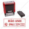 khắc con dấu tên và số điện thoại, đóng trên các tờ rơi bưu phẩm, dịch vụ làm con dấu số điện thoại giá rẻ, giảm giá với số lượng nhiều.