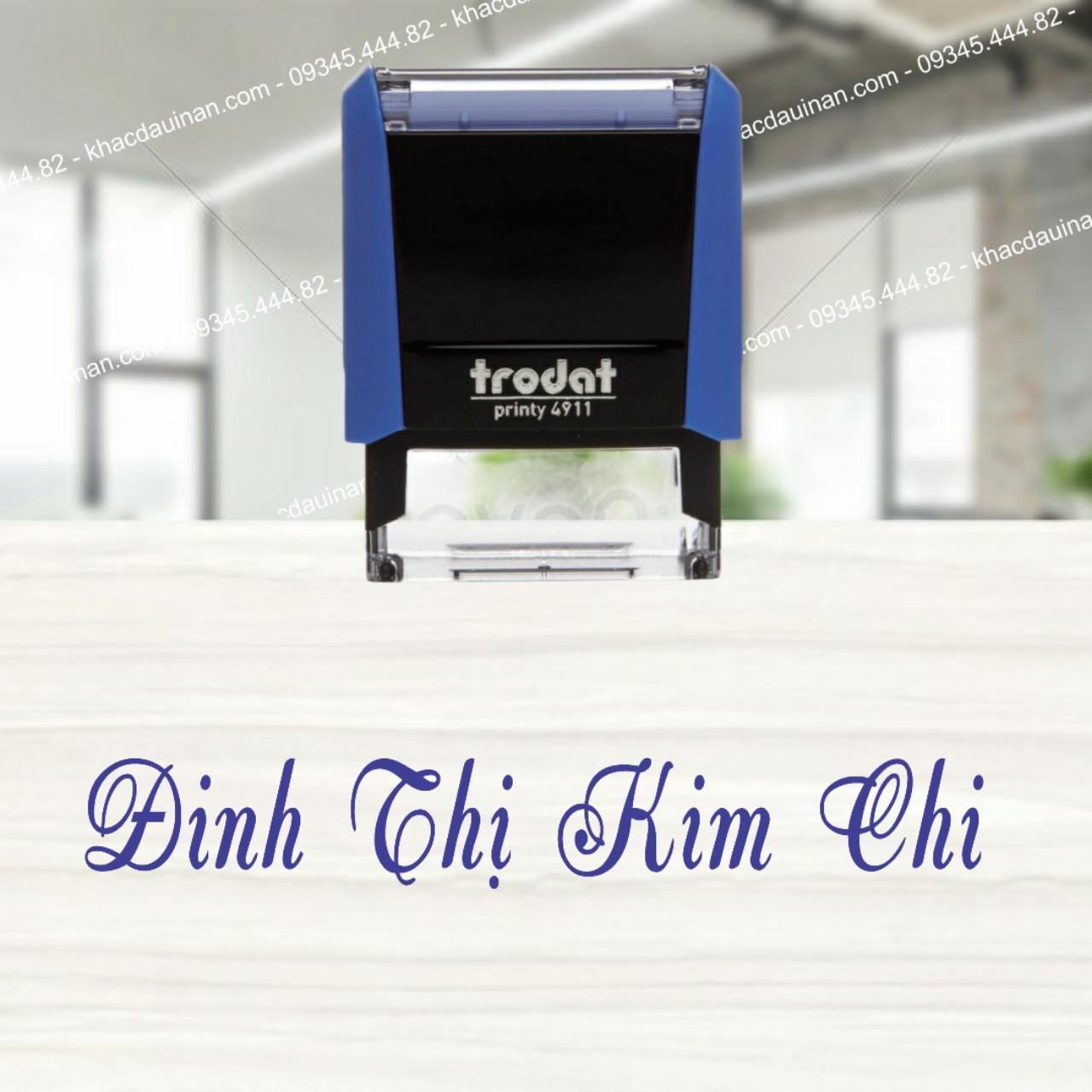 Khắc con dấu tên giá rẻ tại tphcm - hà nội, giảm giá với khách hàng làm số lượng nhiều, xuất hóa đơn VAT 10%.