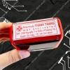 Làm con dấu vuông của nhà thuốc tay, dịch vụ làm con dấu chuyên nghiệp giá rẻ, sản phẩm con dấu chất lượng tốt.